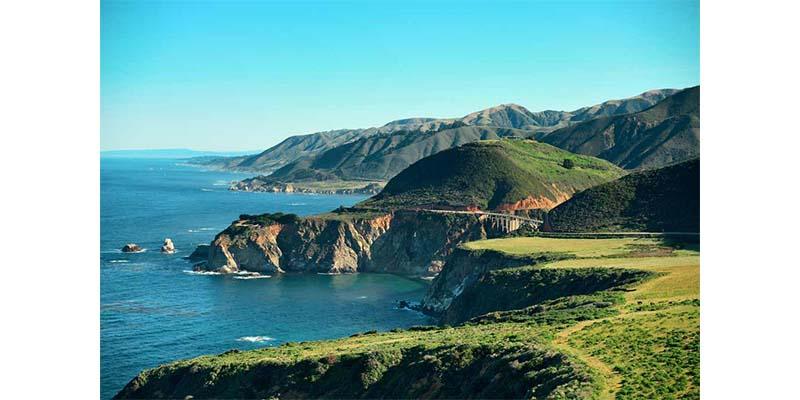 Holiday Destinations - Big Sur, California