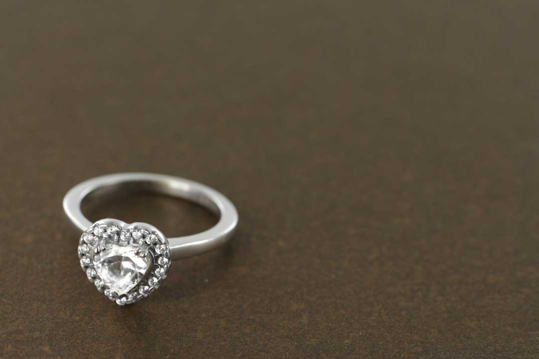 Heart Shaped Engagement Ring - Valentine
