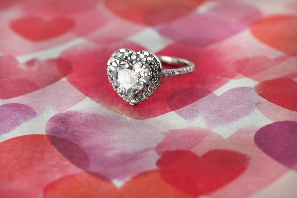 Heart Shaped Valentine Ring