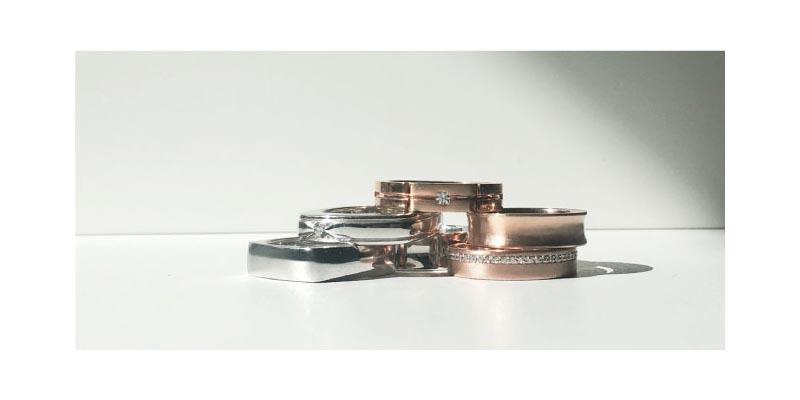 Gold - Platinum Engagement Ring