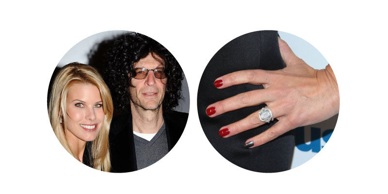 Howard Stern and Beth Ostrosky - Diamond Ring