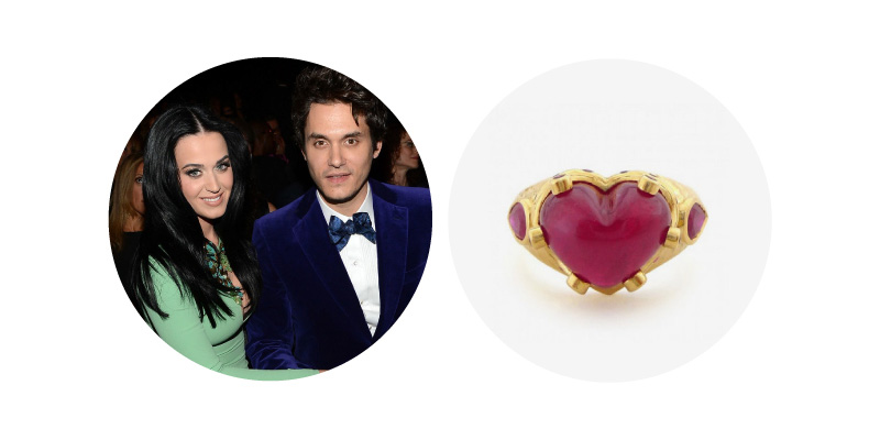 John Mayer and Katy Perry - Ruby Ring