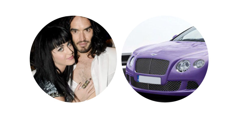 Katy Perry and Russell Brand - Valentines Gift
