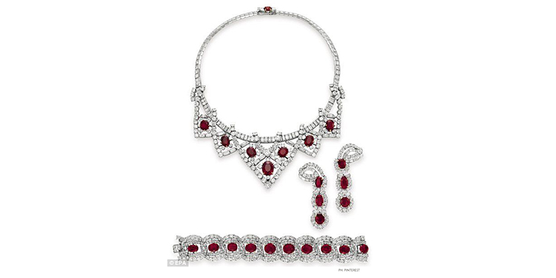 The Elizabeth Taylor's Ruby Collection