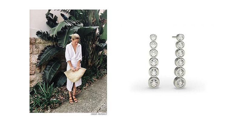 Diamond Earrings For Spring