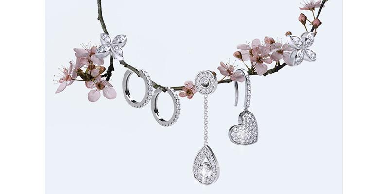 ABC OF Diamond Earrings