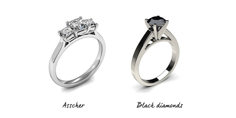 Engagement Rings - Large Hands
