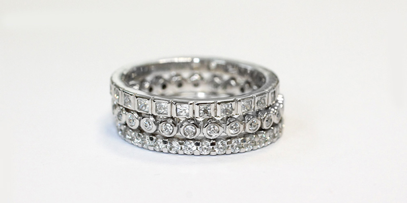 Full Eternity Diamond Rings
