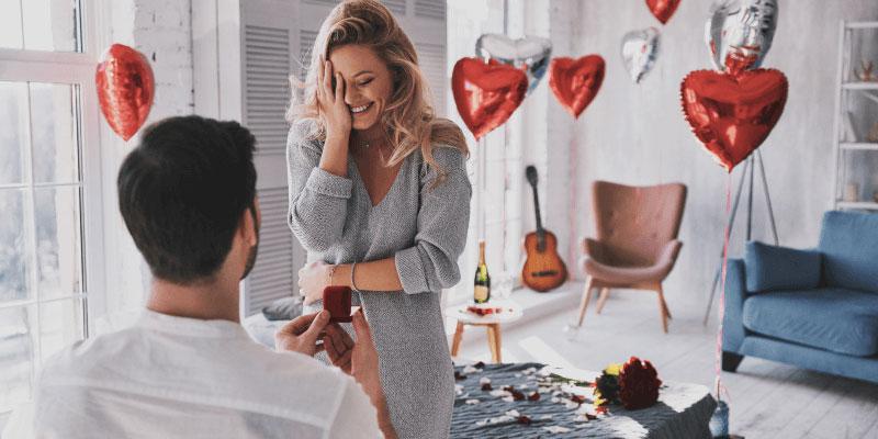 Engagement Rings - Full Surprise