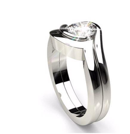 Bezel Engagement Rings