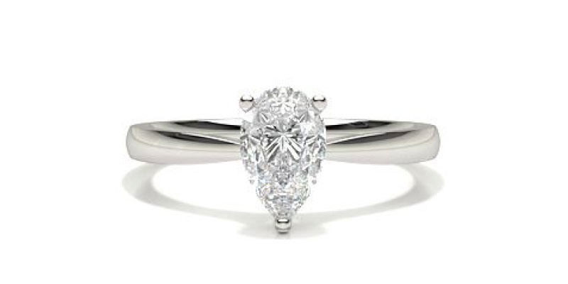 Fancy Shape Diamond Ring