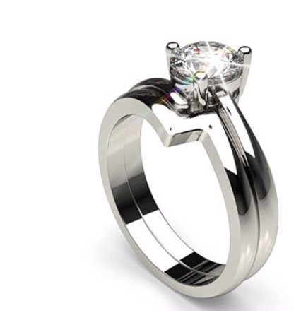 Uniquely Shaped Engagement Rings