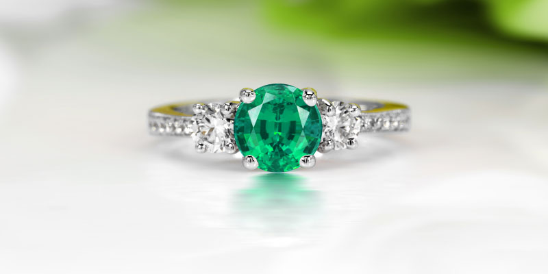 What does an emerald engagement ring mean?