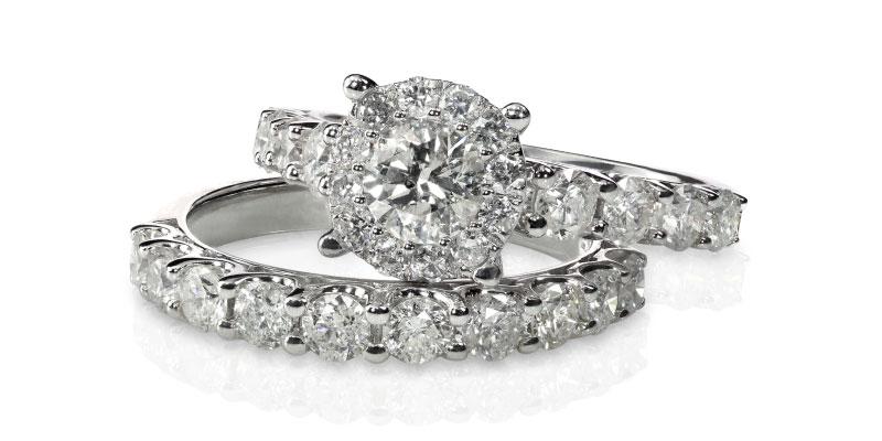 White Gold vs Platinum Diamond Jewellery