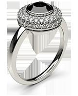 Black Engagement Rings