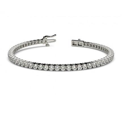 4 Prong Setting Tennis Bracelet