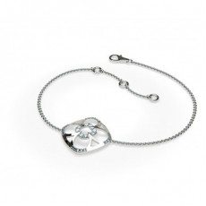 0.20ct. Pave Setting Round Diamond Delicate Bracelet