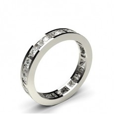 Channel Setting Full Eternity Diamond Ring